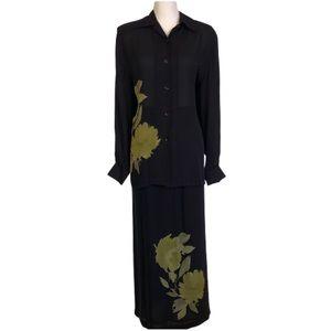 Nygard Collection Top and Skirt